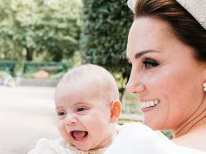 Too cute to keep under wraps: New photo of Prince Louis