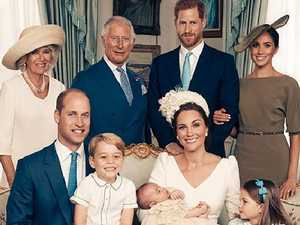 Palace releases Prince Louis christening photos