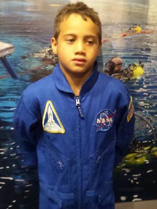 Ms Petersen described her son Rua as her 'future NASA boy' in a 2016 Facebook post.