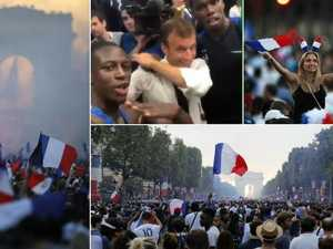 Vive la France! Presidential dabs and a party in Paris