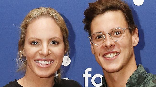 Swimmers Emily Seebohm and Mitch Larkin have split. Picture: AAP/Josh Woning