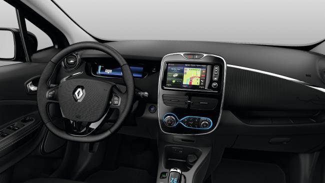 2018 Renault Zoe.