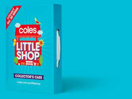 Coles Little Shop collectable range