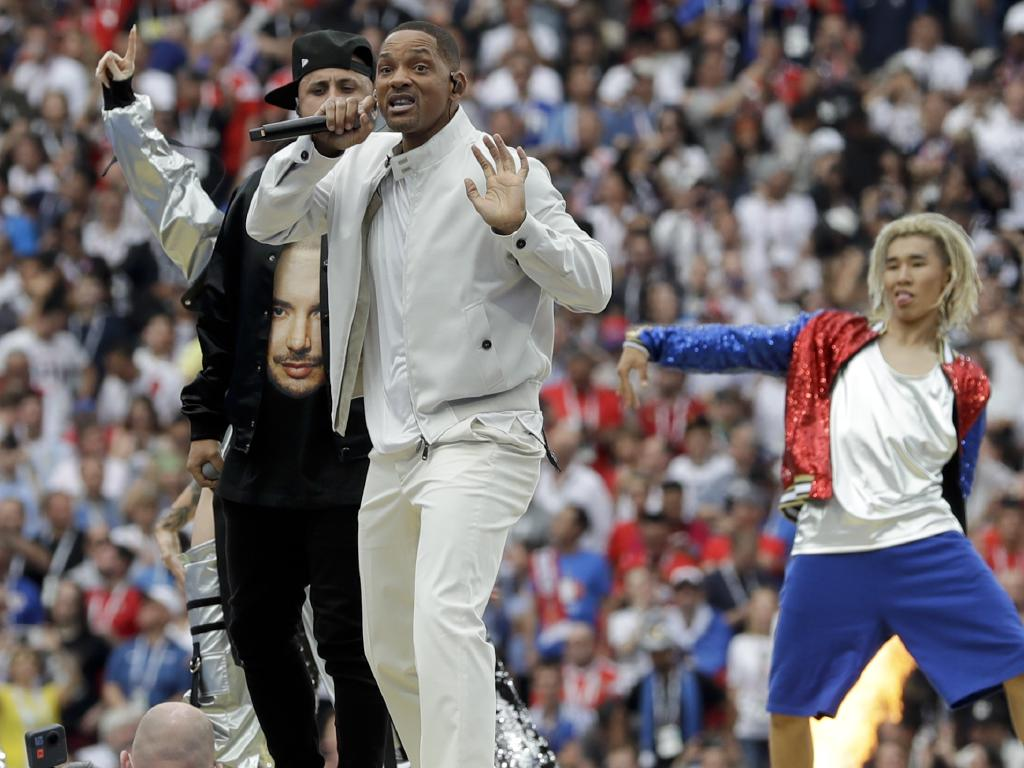 Will Smith drew a mixed reaction.