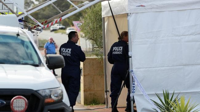 ree people have been found dead in a house in suburban Perth. Picture: AAP