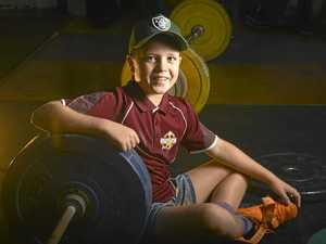 How one photo drove young weightlifter to national success