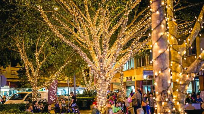 CHILL OUT: The length of lower Mary St will be closed for this year's Winter Trees on Mary festival.