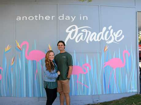Owners of Two Sisters Coffee Bar, Carli and Dan Richards are excited to open the doors of their new business on Tuesday.