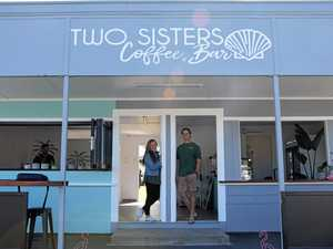 Sisters' backyard dream becomes reality with new coast cafe