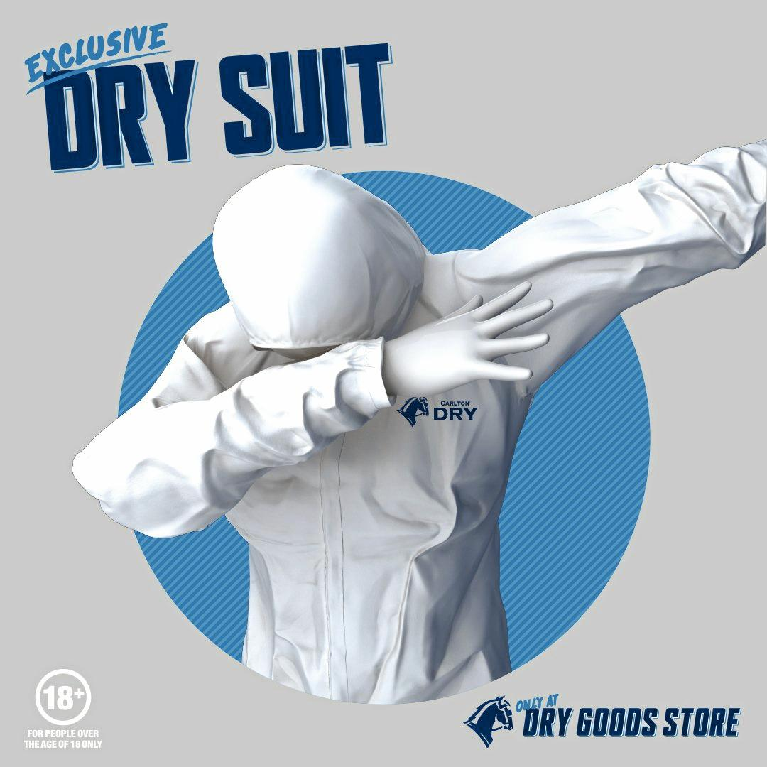 Introducing the Dry Suit by @CarltonDry and exclusive to Splendour in the Grass.