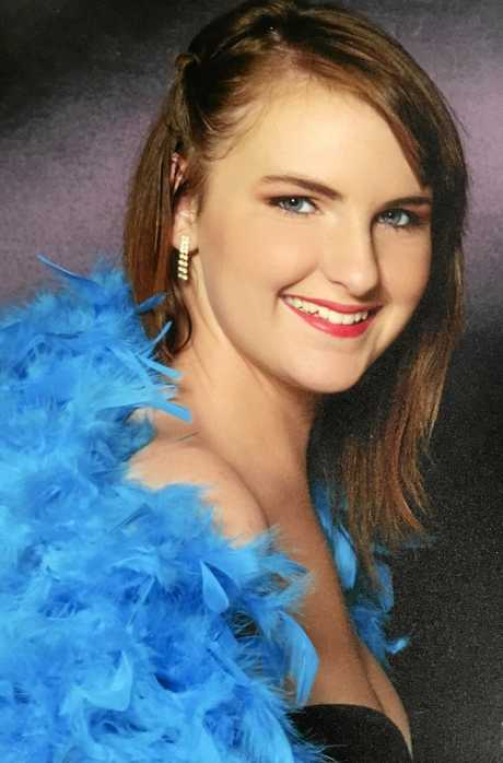 FOREVER REMEMBERED: 24-year-old Aimee Helen Herbert was killed in a head-on collision on the Bruce Highway last month.