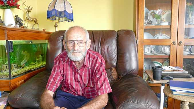 South Grafton pensioner Alan Smith has racked up more than $30,000 in unpaid since buying a house about 14 years ago.