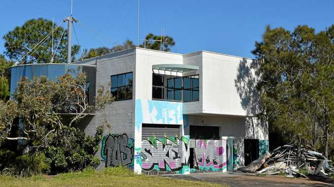 GOING DOWN: The old toll building on the Sunshine Motorway is set to be demolished.