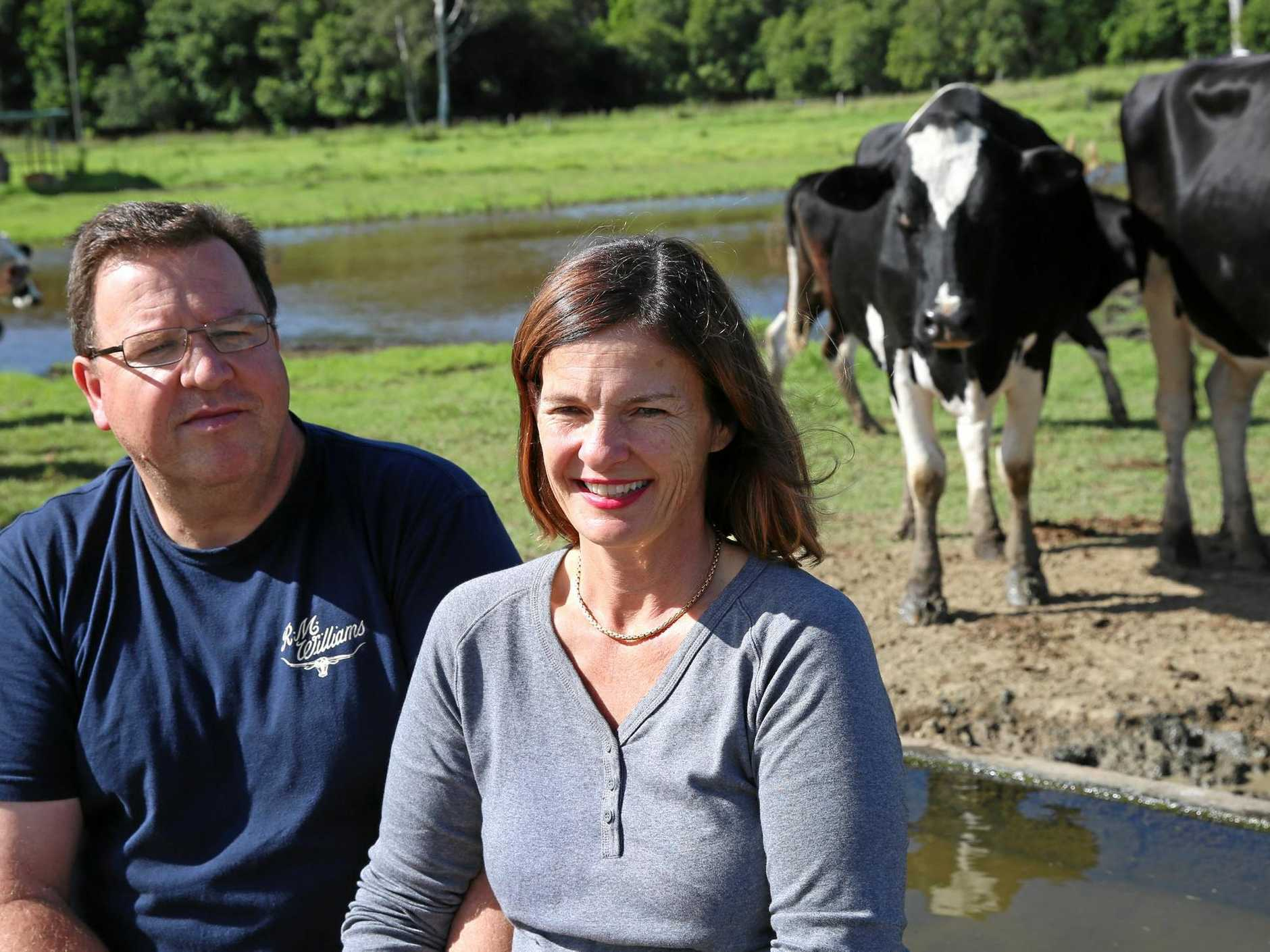 Markus and Sara Bucher opened Maleny Cheese 14 years ago and say they are passionate about farm safety.