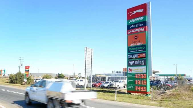 Petrol stations near the Costco site at Bundamba are already dropping their prices.