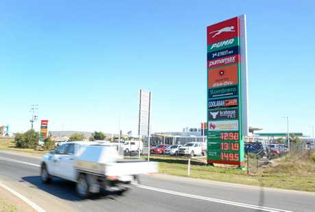 Petrol stations near Costco Bundamba are already dropping their prices.