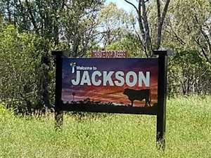 No sign of 'Welcome to Jackson'