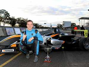 Teen in driver's seat for Australian Formula 3 series