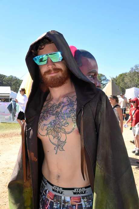 PJ Cartwright, of Sydney at Splendour in the Grass 2017.
