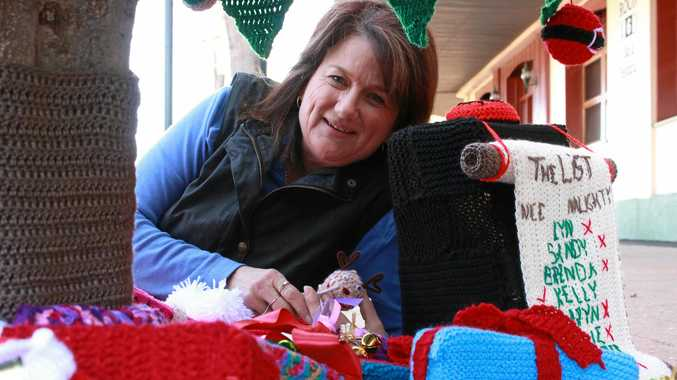 Warwick crochet group pulls off first win with 11th tree