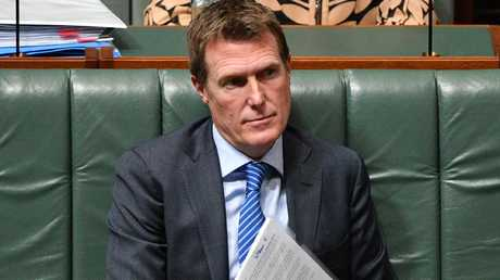 Attorney-General Christian Porter is in a race against time to streamline the laws. Picture: AAP