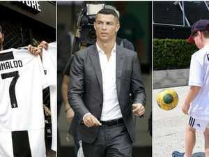 Ronaldo's insane Juve jersey sales