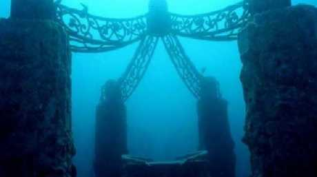 The memorial's welcome feature. Picture: Neptune Memorial Reef