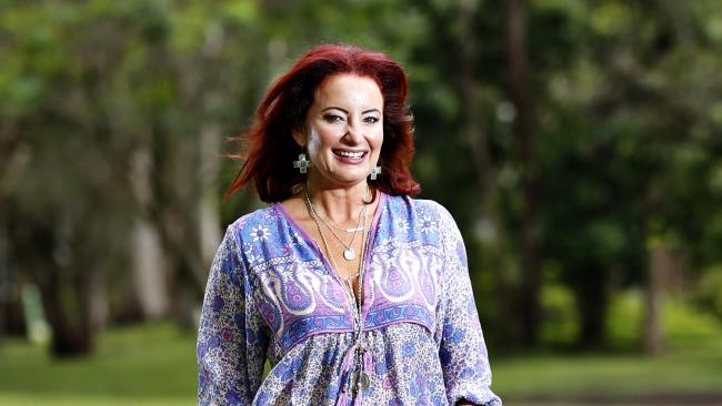Holiday from hell: Gold FM announcer Bridge Daley is lucky to be alive after a yacht she was on board ran aground in the dark and was breaking up. She was initially rescued via a small boat before being choppered to hospital. Picture: JERAD WILLIAMS