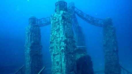 The Neptune Memorial Reef in Florida. Picture: Neptune Memorial Reef