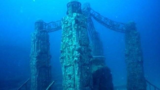 The Neptune Memorial Reef in Florida. Picture: Neptune Memorial Reef