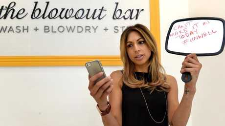Melbourne's Blow Out Bar no longer accepts texts or emails from staff calling in sick, requiring an old fashioned phone call. (Pic: Nicole Garmston)