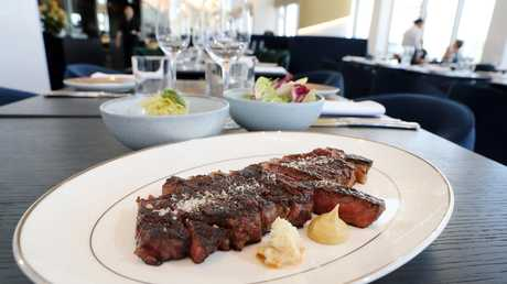 A 400g Wagyu Kiwami at Nineteen at The Star on the Gold Coast. Picture: Richard Gosling