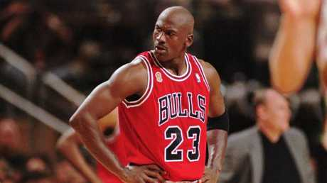 Chicago Bulls' Michael Jordan dominated basketball, but didn't have the same luck in baseball.