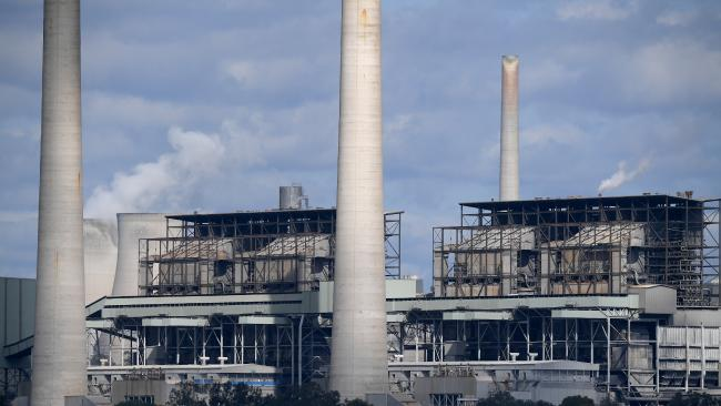 Liddell Power Station in the NSW Hunter Valley region. Picture: AAP