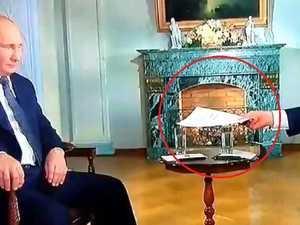 Putin's brutal on-air staredown