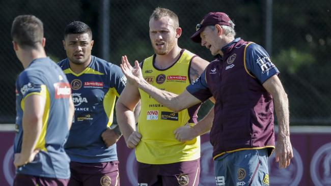 Lodge has found a new mentor in Wayne Bennett. (AAP Image/Glenn Hunt)