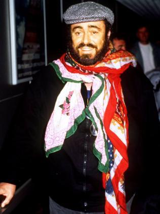 Luicano Pavarotti.