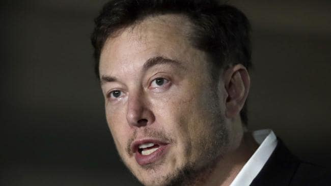 Tesla CEO and founder of the Boring Company Elon Musk.