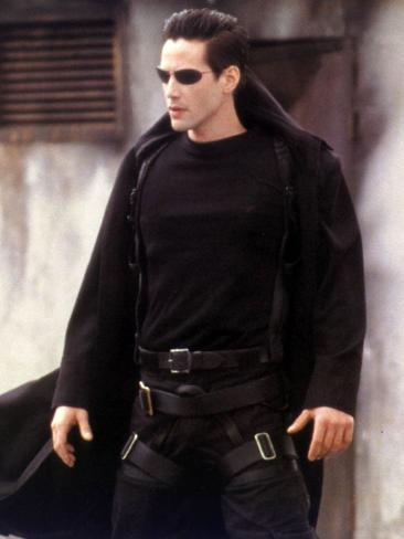 Keanu Reeves in The Matrix.
