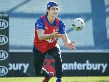 Lachlan Lewis returns for the Bulldogs. Picture: Richard Dobson