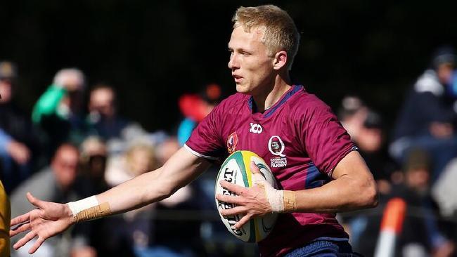 Queensland Schoolboys flyhalf Carter Gordon … a trump for Brisbane Boys' College in the 2018 GPS rugby season. Photo: Karen Watson, Rugby Australia