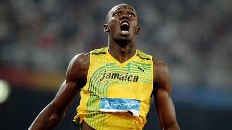 Sprint legend Usain Bolt appears serious about pursuing a football career.