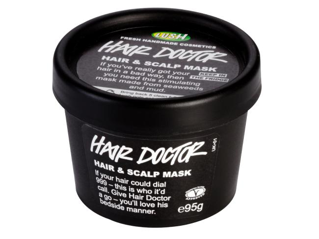 Lush is famous for its sustainable black packaging.