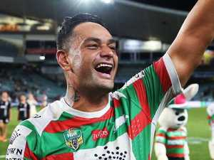 Sutton stands with South Sydney legends