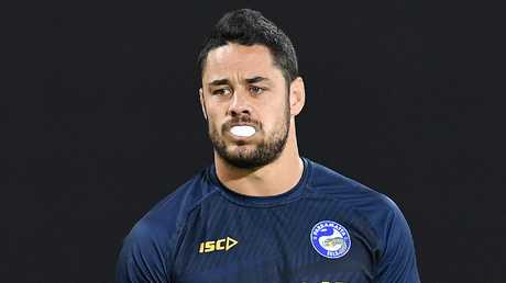 "Jarryd Hayne: ""What? Mariners wanted a marquee signing? Dammit."" Picture: AAP/Dan Peled."