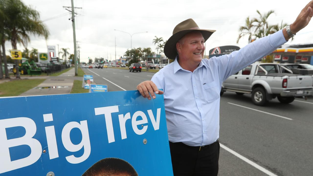 Trevor Ruthenberg, the Liberal National candidate at the Longman by-election on July 28, has said he is 'not a military impostor'. Picture: Lyndon Mechielsen/The Australian
