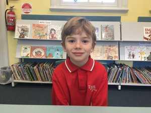 Rocky Carter, 7, Year 2, Tucabia Public School