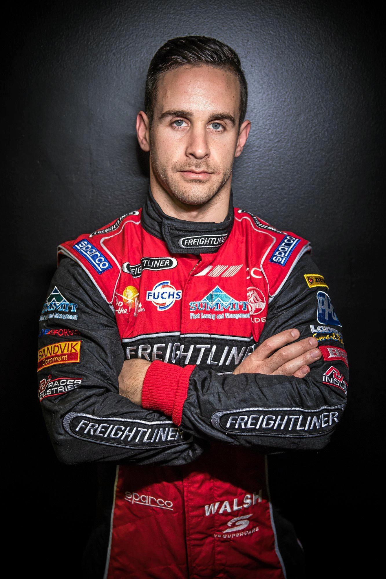 Ipswich racer Ash Walsh.