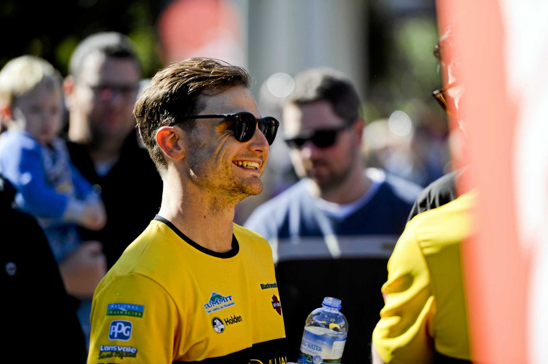 Tim Slade enjoys being part of the Coates Hire Ipswich SuperSprint Community Day.