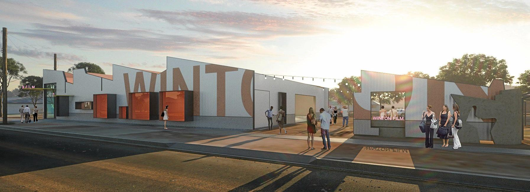 Artist's impression of the Winton Film Studios.